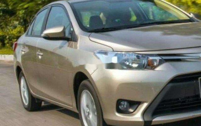 Bán ô tô Toyota Vios đời 2017, nhập khẩu, màu nâu vàng10