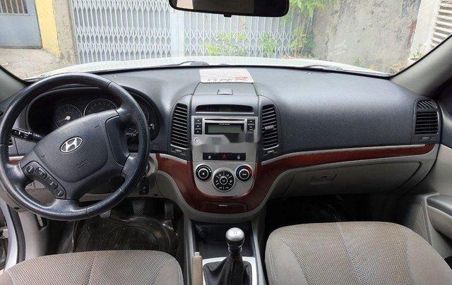 Cần bán gấp Hyundai Santa Fe đời 2008, màu bạc, xe nhập chính chủ, 315 triệu5