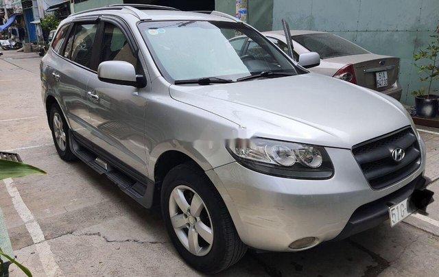 Cần bán gấp Hyundai Santa Fe đời 2008, màu bạc, xe nhập chính chủ, 315 triệu0