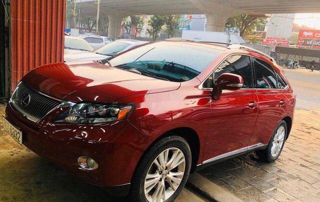 Cần bán lại xe Lexus RX 450 H đời 2010, màu đỏ, nhập khẩu4