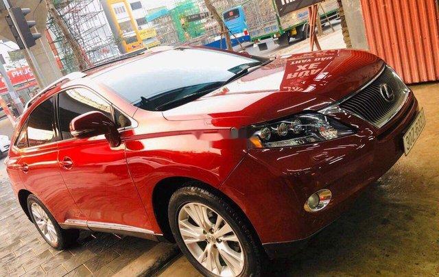 Cần bán lại xe Lexus RX 450 H đời 2010, màu đỏ, nhập khẩu0