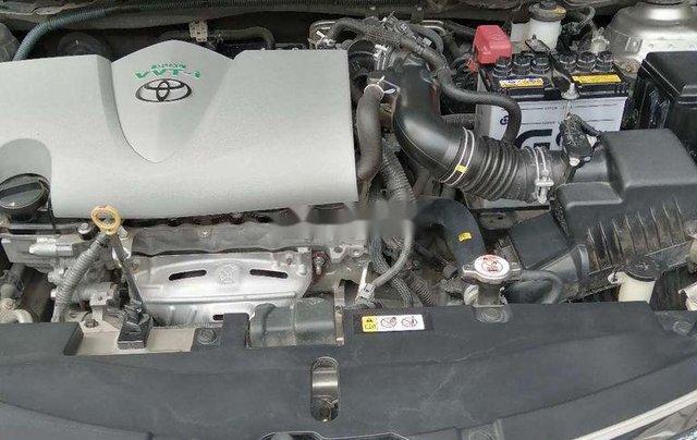 Bán ô tô Toyota Vios đời 2017, nhập khẩu, màu nâu vàng4