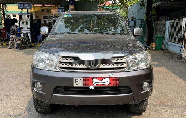 Cần bán gấp Toyota Fortuner sản xuất 2009, nhập khẩu0