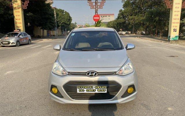 Bán xe Hyundai Grand i10 1.2MT năm sản xuất 2017, xe nhập0