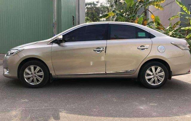 Bán ô tô Toyota Vios đời 2017, nhập khẩu, màu nâu vàng0