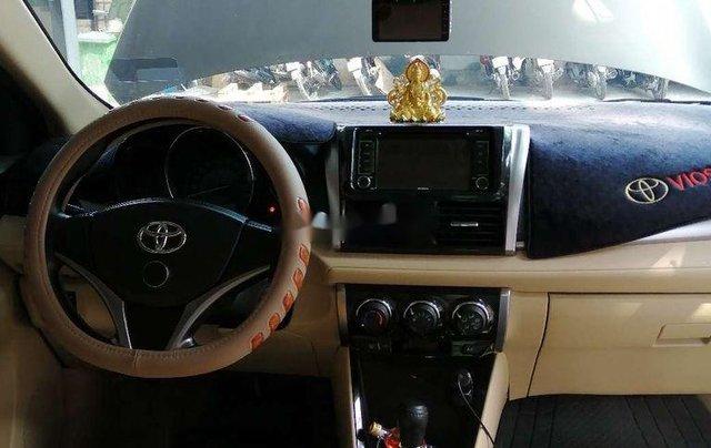 Bán ô tô Toyota Vios đời 2017, nhập khẩu, màu nâu vàng3