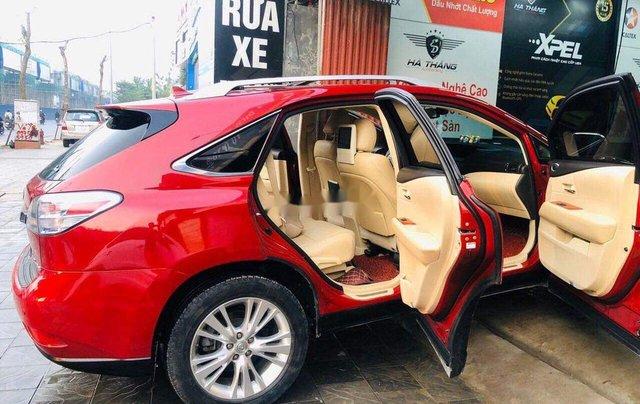 Cần bán lại xe Lexus RX 450 H đời 2010, màu đỏ, nhập khẩu3
