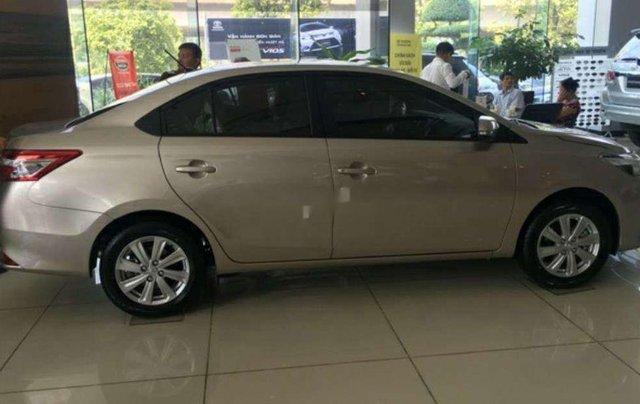 Bán ô tô Toyota Vios đời 2017, nhập khẩu, màu nâu vàng11