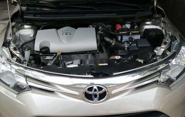 Bán ô tô Toyota Vios đời 2017, nhập khẩu, màu nâu vàng5