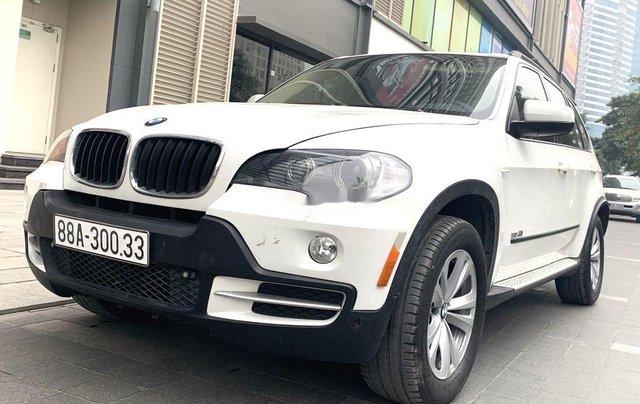 Bán BMW X5 sản xuất năm 2008, màu trắng, xe nhập 1