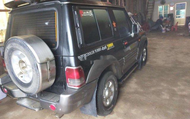 Bán xe Hyundai Galloper năm sản xuất 2001, màu đen, xe nhập 2