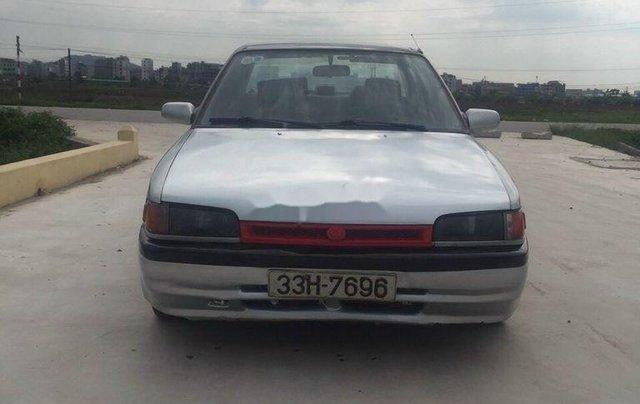 Xe Mazda 323 sản xuất 1995, màu bạc, nhập khẩu, 28 triệu0