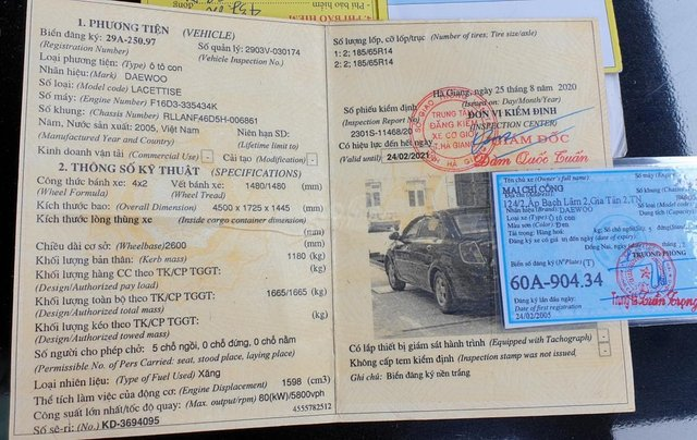 Cần bán xe Lacetti 2005 xe xăng, số sàn. Xe cực chất9