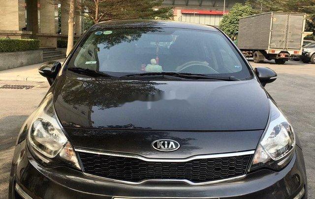 Cần bán Kia Rio đời 2016, màu đen, xe nhập chính chủ1