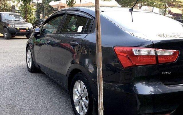 Cần bán Kia Rio đời 2016, màu đen, xe nhập chính chủ4