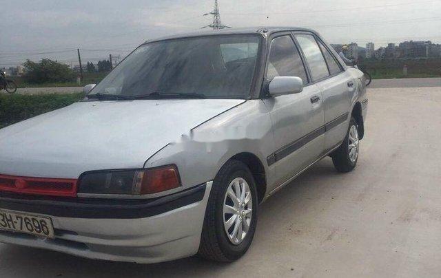 Xe Mazda 323 sản xuất 1995, màu bạc, nhập khẩu, 28 triệu1