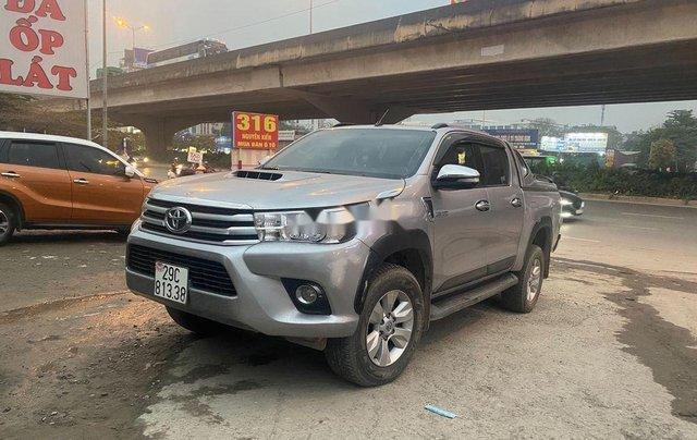 Bán Toyota Hilux sản xuất 2016, xe nhập còn mới1