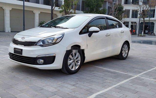 Bán Kia Rio sản xuất 2016, màu trắng, nhập khẩu nguyên chiếc0