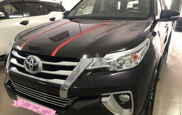 Xe Toyota Fortuner sản xuất năm 2017, nhập khẩu nguyên chiếc còn mới, giá tốt0