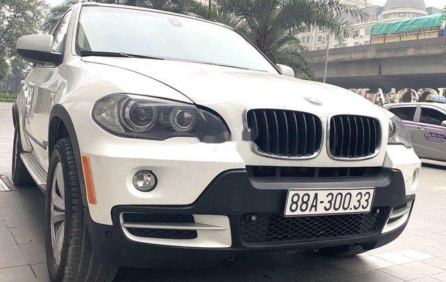 Bán BMW X5 sản xuất năm 2008, màu trắng, xe nhập 0