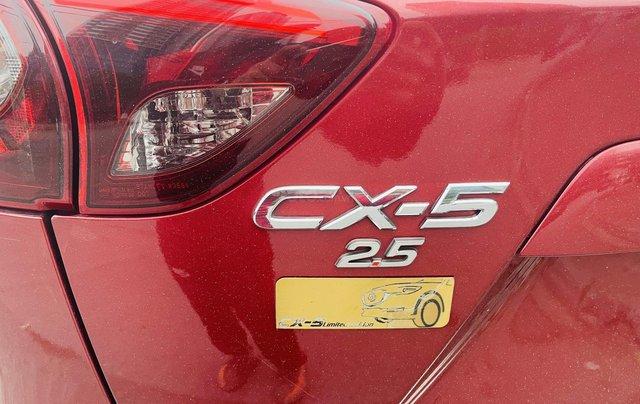 Bán Mazda CX 5 đời 2017, màu đỏ, giá tốt4