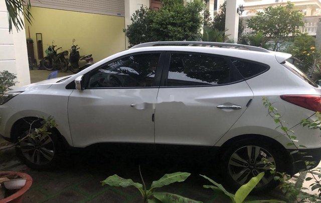 Xe Hyundai Tucson sản xuất 2014, màu trắng, xe nhập0