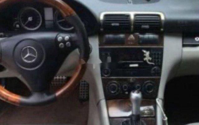 Xe Mercedes C200 sản xuất năm 2005, màu đen, xe nhập1