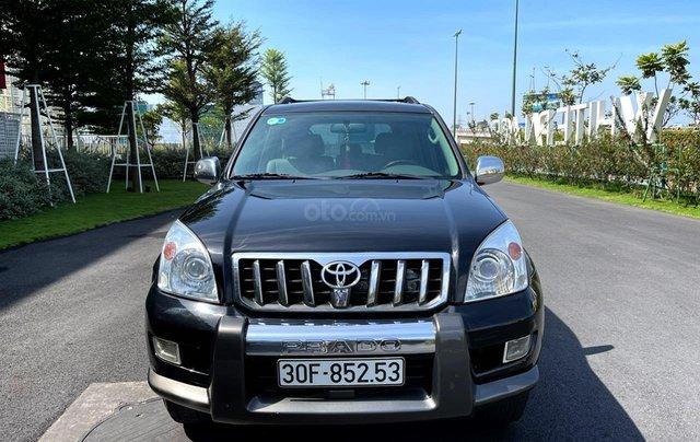Bán Toyota Prado GX sản xuất 2008, màu đen nội thất kem, xe chạy 120.000km1