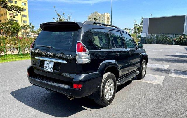 Bán Toyota Prado GX sản xuất 2008, màu đen nội thất kem, xe chạy 120.000km3