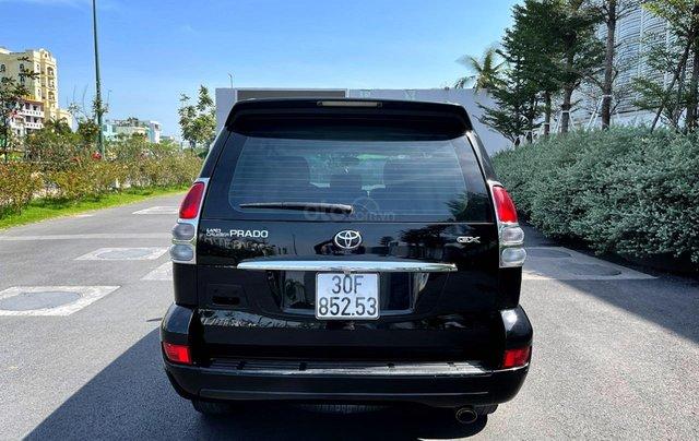 Bán Toyota Prado GX sản xuất 2008, màu đen nội thất kem, xe chạy 120.000km4