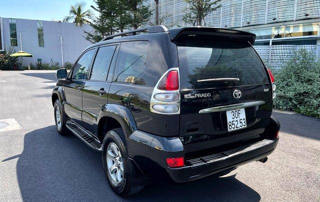 Bán Toyota Prado GX sản xuất 2008, màu đen nội thất kem, xe chạy 120.000km5