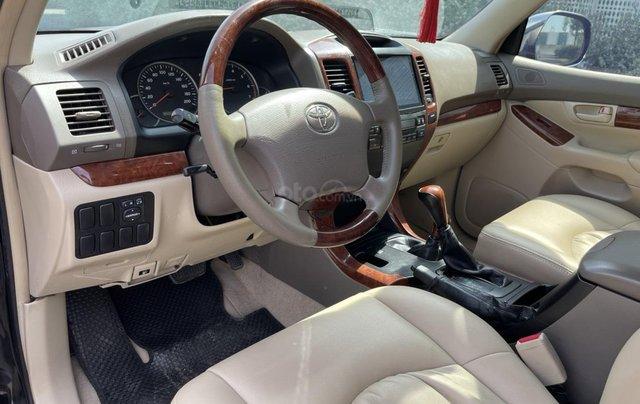 Bán Toyota Prado GX sản xuất 2008, màu đen nội thất kem, xe chạy 120.000km11