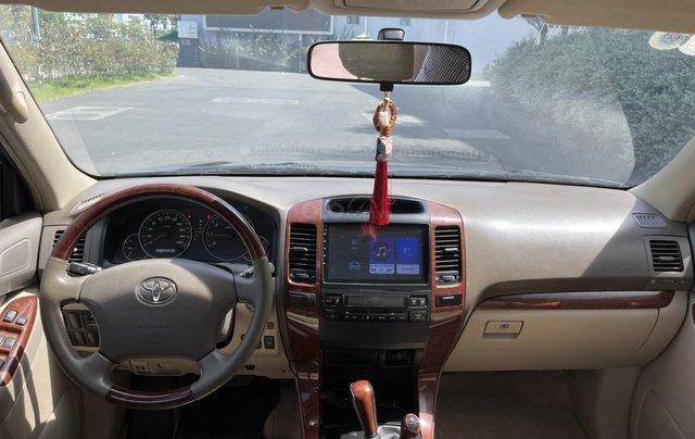 Bán Toyota Prado GX sản xuất 2008, màu đen nội thất kem, xe chạy 120.000km8