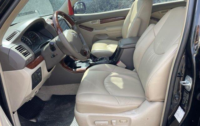 Bán Toyota Prado GX sản xuất 2008, màu đen nội thất kem, xe chạy 120.000km12