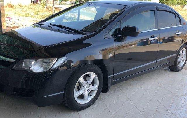 Cần bán gấp Honda Civic đời 2008, màu đen10