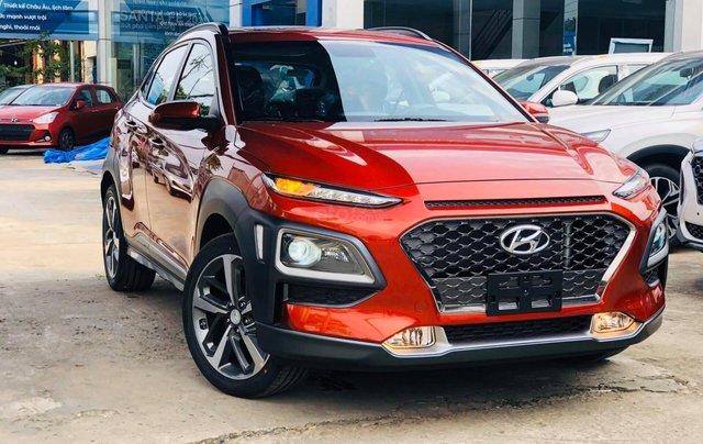 Hyundai Kona ưu đãi 20 triệu đồng, full phụ kiện, xe đủ màu giao ngay tất cả các phiện bản0