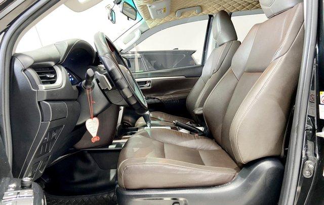 Bán xe Toyota Fortuner màu đen, máy dầu, siêu đẹp, trả góp chỉ 346 triệu9