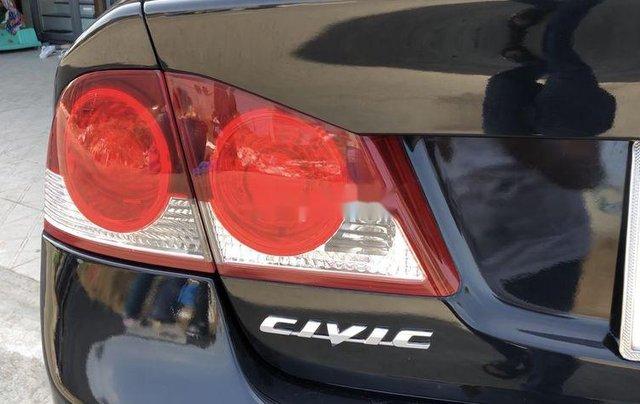 Cần bán gấp Honda Civic đời 2008, màu đen9