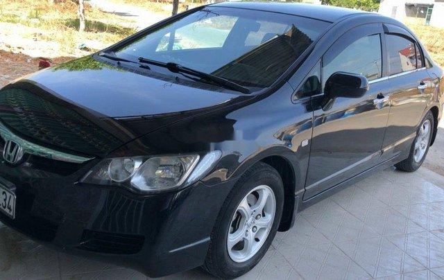 Cần bán gấp Honda Civic đời 2008, màu đen0