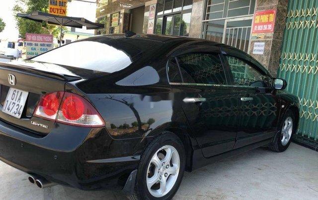 Cần bán gấp Honda Civic đời 2008, màu đen2
