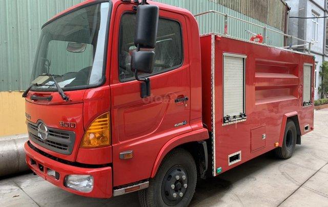 Bán xe chữa cháy, cứu hỏa 5 khối Hino Fc3