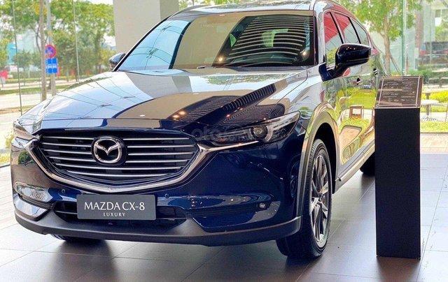 Mazda CX-8 2021 300tr nhận xe nhiều quà tặng vivu đón tết2