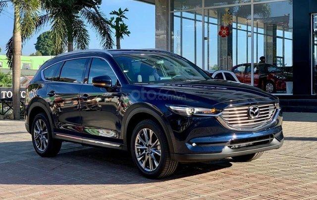 Mazda CX-8 2021 300tr nhận xe nhiều quà tặng vivu đón tết0