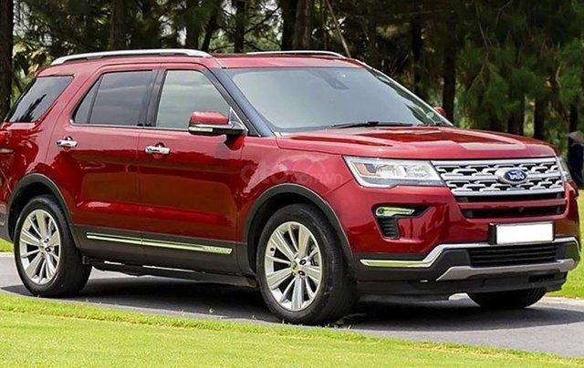 Bán ô tô Ford Explorer sản xuất năm 2019, màu đỏ, nhập khẩu còn mới0