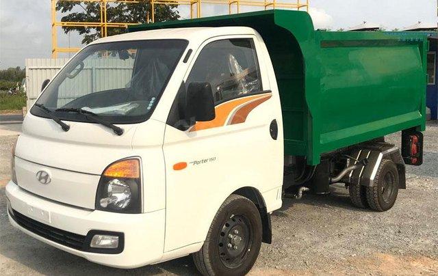 Bán xe thu gom rác ngõ xóm 2 khối Hyundai1