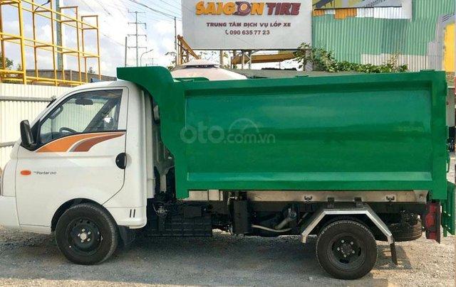 Bán xe thu gom rác ngõ xóm 2 khối Hyundai3