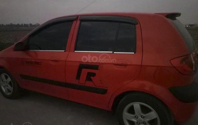 Cần bán Hyundai Getz năm 2009, màu đỏ, nhập khẩu nguyên chiếc2