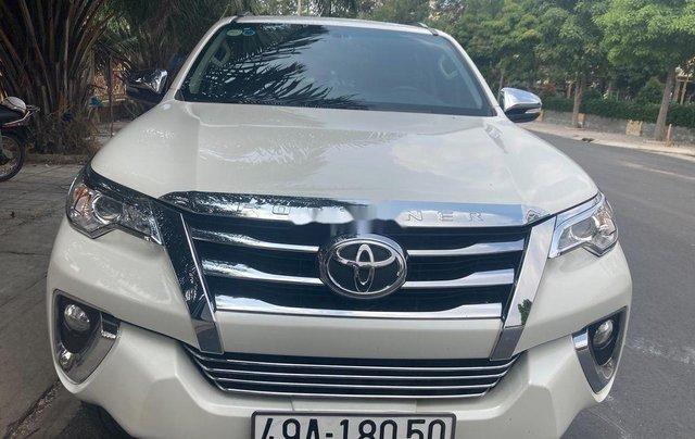 Bán xe Toyota Fortuner sản xuất 2017, xe nhập, giá 890tr0