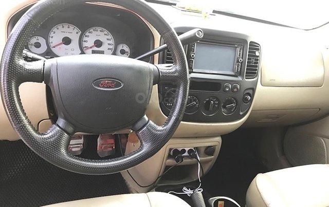Bán Ford Escape năm 2005, màu đen, nhập khẩu 3