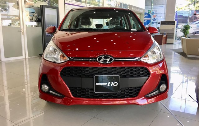 Hyundai Hà Đông: Grand i10 1.2 AT 2021 giá tốt, giao xe trước Tết, hỗ trợ mua trả góp 90% giá trị xe0